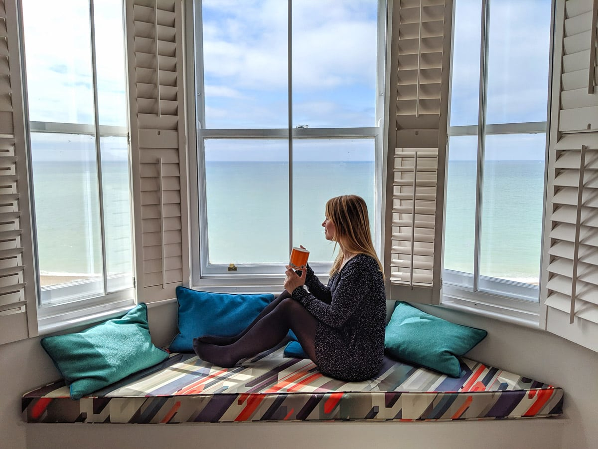 Relaxing at Brighton Harbour Hotel and Spa